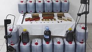 Malatya'da 481 Litre Kaçak İçki Ele Geçirildi