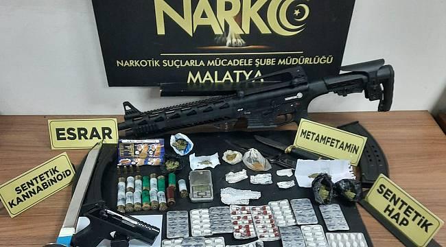 Malatya'da,Uyuşturucu Tacilerine Göz Açtırılmıyor