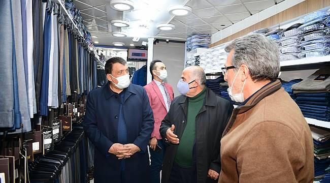 Başkan Gürkan'dan,Esnaf Ziyaretleri