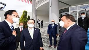 Büyükelçi Lee'den Gürkan'a Ziyaret