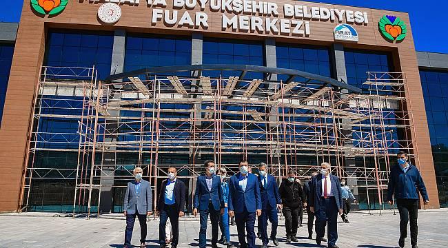 Büyükşehir,Malatya'ya Modern Bir Fuar Merkezi Kazandırıyor