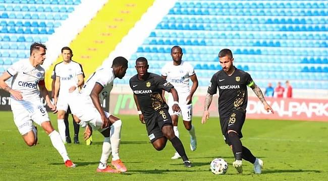 Kasımpaşa 0 Y.Malatyaspor 0