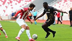 Y.Malatyaspor Sivas'ta Son Dakikada Yıkıldı 1-0