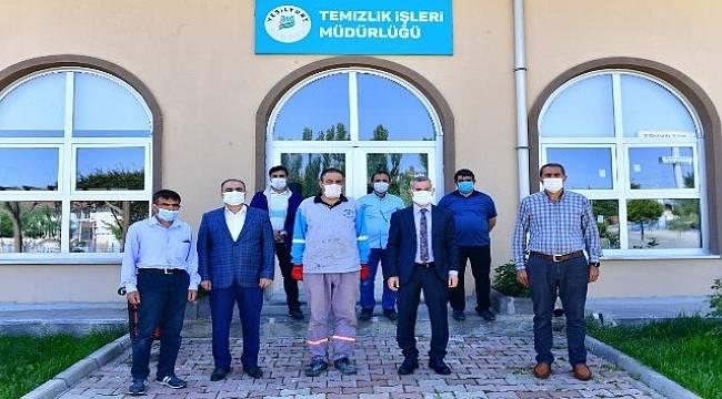 Başkan,Çınar'dan Personel Ziyareti