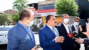 Gürkan,Şehri Yenilemek için Yoğun Çalışıyoruz