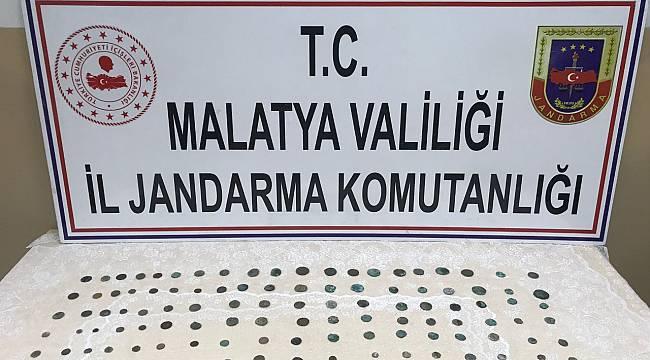 Malatya'da Gümüş Sikke Ele Geçirildi