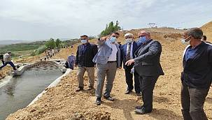 Şahnahanlıların Sulama Kanalı Problemi Çözüldü