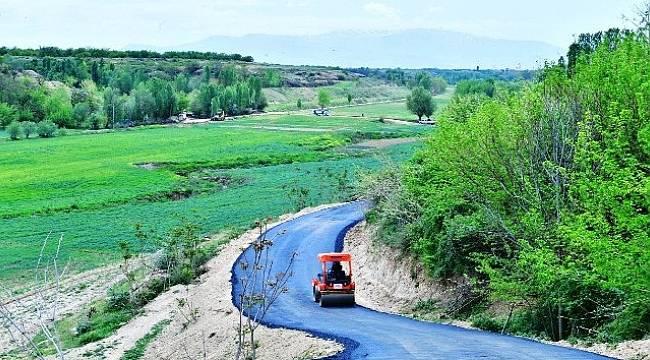 Yeşilyurt'ta,Batuhan İçin Yol Asfaltı Yapıldı