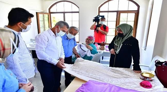 Başkan Çınar,Gençlik Merkezini İnceledi