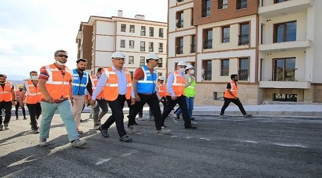 Battalgazi'de,Deprem Konutları Kuraları Çekiliyor