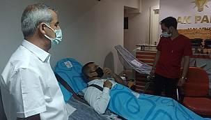 Malatya Ak Parti Teşkilatından Kan Bağışı