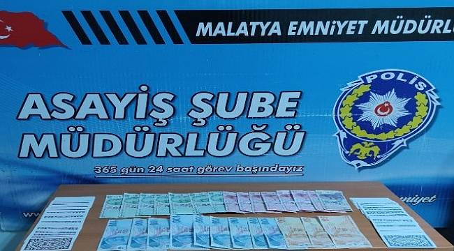 Malatya'da Kumar Baskını 4 Gözaltı