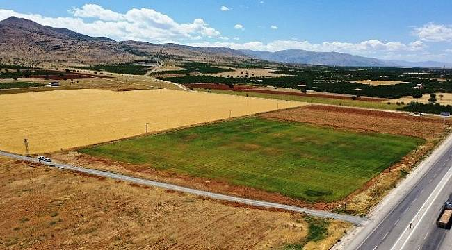 Yeşilyurt'ta,Tarımsal Üretimler Hız Kazandı