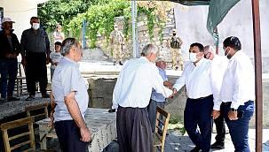 Gürkan, Elmalı Mahallesi'ni Ziyaret Etti