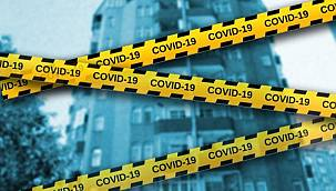 Malatya'da Bir Apartmana Covid-19 Karantinası