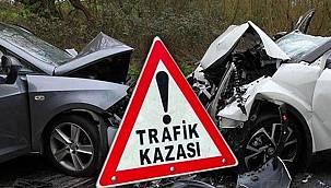 Malatya'da Trafik Kazası 2 Ölü 4 Yaralı