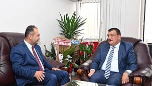 Gürkan'dan Baro Başkanı Demez'e Hayırlı Olsun Ziyareti